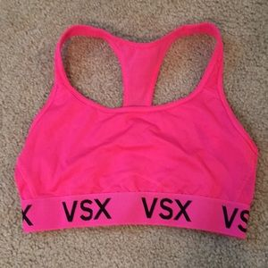 Victoria SPORT sports bra hot pink size medium